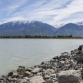 Utah Lake is nearly 150 square miles.- Utah Lake State Park