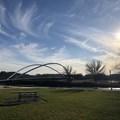 Peter Courtney Minto Island Bridge.- Salem Riverfront City Park