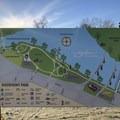 The Salem's Riverfront City Park map in 2018.- Salem Riverfront City Park