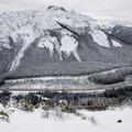 View of Markhor Peak.- Coquihalla Summit Recreation Area