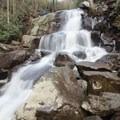 Lower Laurel Falls.- Laurel Falls