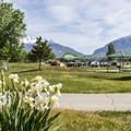 Utah Lake Campground.- Utah Lake State Park Campground