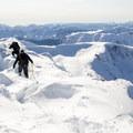 Final steps before the summit.- Needle Peak