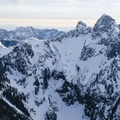 Mount Harvey is one of the closest mountains to the Lions.- Mount Harvey