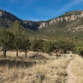 Carr Canyon in the Huachuca Mountains.- Perimeter Trail