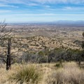 View from Carr Canyon Road.- Cooper Loop