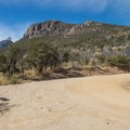 Clark Spring Trail junction with Carr Canyon Road- Cooper Loop