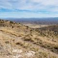 Clark Spring Trail rolling along the ridge.- Cooper Loop