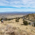 Thrilling ridge ride in the Huachucas.- Cooper Loop