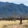 Huachuca backdrop in Garden Canyon.- Garden-Brown Canyon Loop