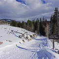 Lily Lake Touring Area.- Bear Claw Yurt