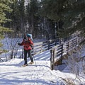 Bridge Crossing over the Bear River.- Bear Claw Yurt