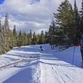 Snowshoeing in to the Bear Claw Yurt.- Bear Claw Yurt