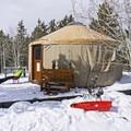 Bear Claw Yurt.- Bear Claw Yurt