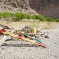 Souvenirs for sale along the trail.- Boquillas Canyon Trail