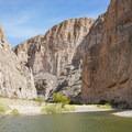 Boquillas Canyon of the Rio Grande.- Boquillas Canyon Trail