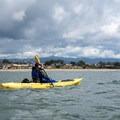Returning to Santa Cruz Harbor from the Santa Cruz Wharf.- Santa Cruz Harbor