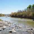 Beginning the float from Lajitas.- Santa Elena Canyon of the Rio Grande