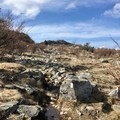 A rocky section of the Appalachian Trail.- Grayson Highlands Backpacking Loop