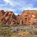 Hiking the Babylon Arch Trail to the Virgin River.- Babylon Arch Trail to the Virgin River
