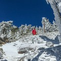 Sections of the route are quite steep.- Mount Baldy via Register Ridge