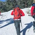Finding the road.- Mount Baldy via Register Ridge