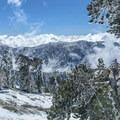 Beautiful views from near the summit of Mount Baldy.- Mount Baldy via Register Ridge
