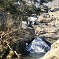 Unfortunately, despite several signs requesting that hikers stay on the boardwalk and trails, many visitors fail to heed the guidance.- Cunningham Falls