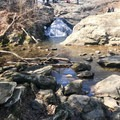 The base of the falls.- Cunningham Falls
