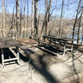 After finishing the hike, spend some time in the picnic area at Cunningham Falls State Park. There are several sites available, including some with fire pits.- Cunningham Falls