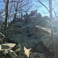 You will reach the summit of Cat Rock.  - Cat Rock Mountain via Old Misery Trail