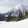 Looking back at Thar Peak on the ascent.- Zoa Peak