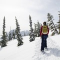 Tree line is reached quickly, and the views start being more frequent.- Zoa Peak