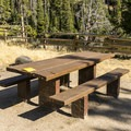 Typical riverside site.- Salmon River Campground