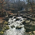 Cunningham Falls in the background.- Cunningham Falls