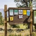 Titus Lake Trailhead.- Titus Lake Trail