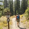 Titus Lake Trail.- Titus Lake Trail