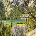 Titus Lake.- Titus Lake Trail