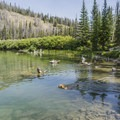 Dogs love this hike and lake.- Titus Lake Trail