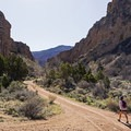 Starting off the hike, it's a beautiful canyon right from the start. - Spring Creek Canyon