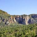 The Pinnacles.- Chisos Basin Loop
