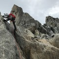 Almost at the station.- Grands Montets: East Ridge