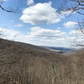 The view at Blue Ridge Summit Overlook.- Hog Rock