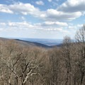 Hog Rock is one of the more popular hikes in Catoctin National Park.  - Hog Rock
