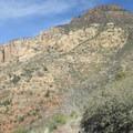 The imposing Wilson Mountain.- Wilson Mountain hike