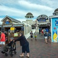 The entrance to The Pier.- Old Orchard Beach