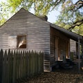 One of the slave quarters.- Oak Alley Plantation