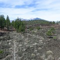 Views extending to 12,000 feet from Sunset Crater Volcano National Monument.- Sunset Crater Volcano National Monument