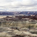 Little Painted Desert.- Little Painted Desert