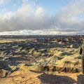 Beautiful view of the Little Painted Desert.- Little Painted Desert